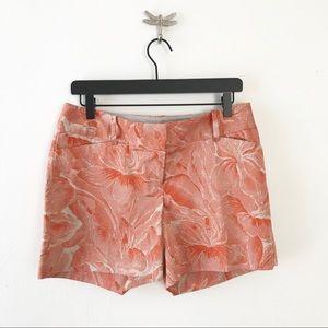 * The Limited ** orange floral shorts